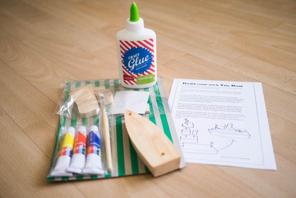 Kit DIY - Bateau Remorqueur