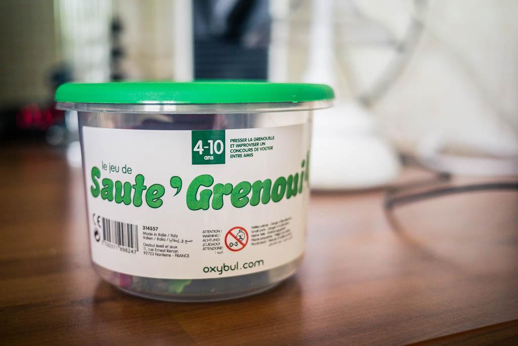 Saute Grenouille - Boîte