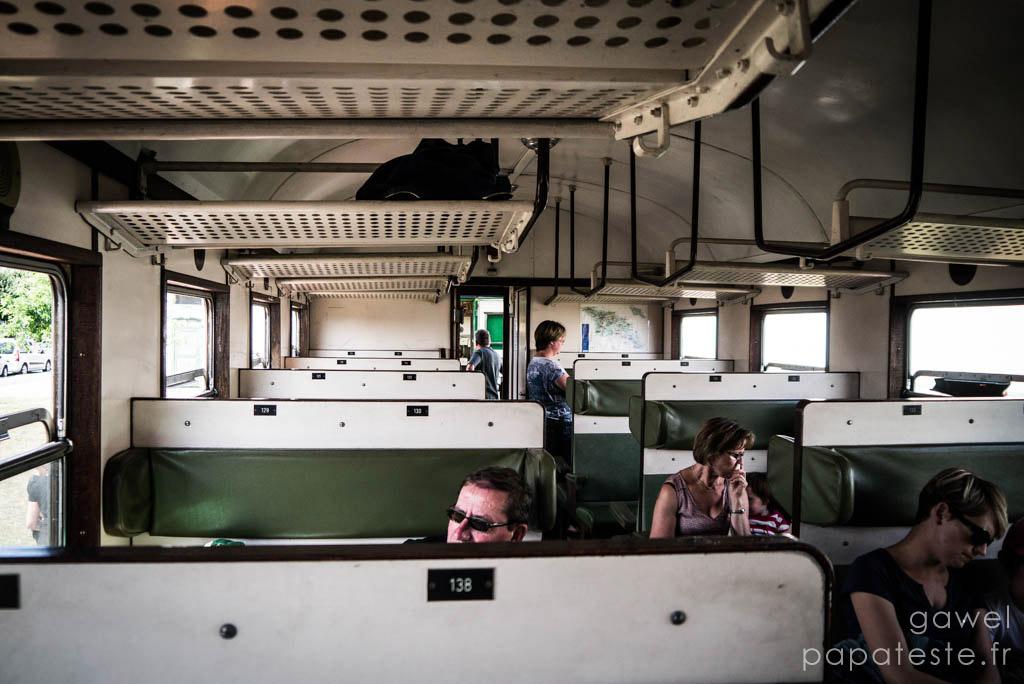 Intérieur du Train - CFV