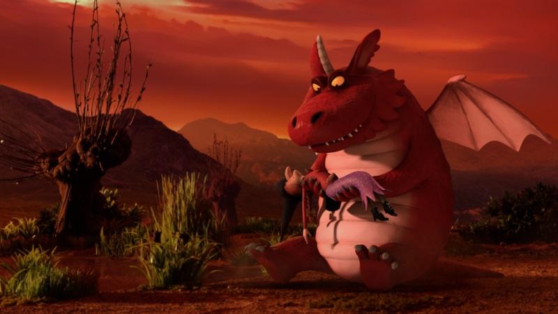 La Sorcière dans les Airs - Dragon