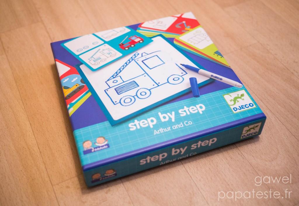 Boite DJECO Step by Step